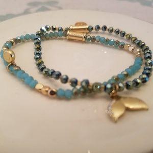 Spartina 449 beaded bracelets Set of 2